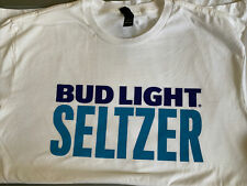 Bud Light Seltzer White T-Shirt New Size Xxl