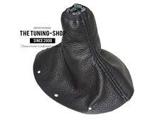 For Audi TT 1998-2006 Gear Boot Black Genuine Leather