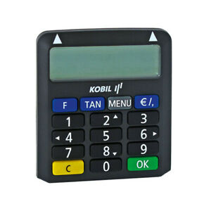 TAN Generator KOBIL Chip-TAN Optimus comfort NEU - Sparkasse Volksbanken DKB u.w