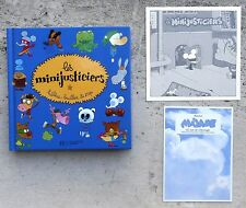 Les Minijusticiers EO 2003 Neuf + carton d'invitation Zep Bruller