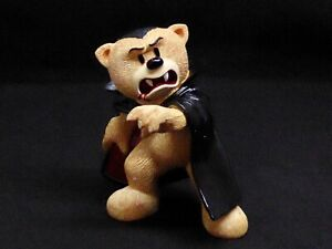Bad Taste Bears Dracula Figurine Monsters Range Halloween Retired