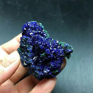 Natural Azurite Malachite Geode Crystal Mineral Specimen Reiki Stone Gemstone US