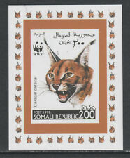 Somalia 5733 - 1998 WWF - CARACAL LYNX #2  imperf deluxe sheet unmounted mint