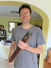 Antique (early 1900s) ICA I.C.A Ebonized Wood / wooden tripod Dresden See video