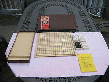 Vintage 1951 GO Board Game By E.S. Lowe # 111~Complete!