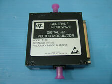 Model 7128 digital I-Q IQ vector modulator 6 - 18GHz general microwave