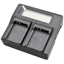 Dual LCD-Display Battery Charger for Olympus BLN-1 BLN1 OMD M-5 EM5 E-M5 II EM1