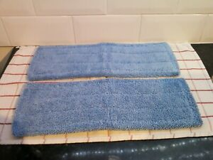 For Henry Hetty 2x Spray Mop Microfibre Pads Mop Heads Cloths Free Postage