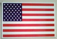 """3 USA American Flag Magnets -  Heavy Quality - indoor & outdoor 5"""" x 8"""""""