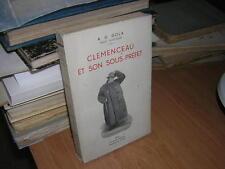 1937.Clémenceau & son sous-préfet / Gola.