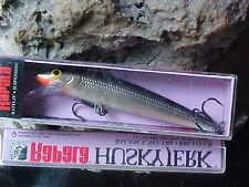 Rapala Suspending Husky Jerk HJ10 S SILVER for Bass/Walleye/Pike/Trout/Pickerel