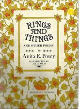 Anita E Posey ~ Rings and Things and Other Poems hbdw A Beginning Reader