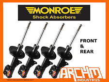 FORD LASER KF KH SEDAN/COUPE/HATCH 89-94 F & R MONROE GT GAS SHOCK ABSORBERS