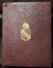 The Temple Shakespeare, 9th edition, 1902, The Merchant of Venice, Leather, Mini