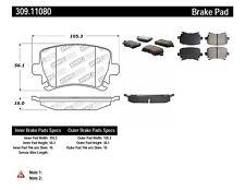 Disc Brake Pad Set-Sedan Rear Stoptech 309.11080