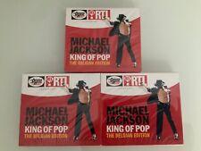 CD MICHAEL JACKSON KING OF POP THE BELGIAN EDITION LOT DE 3 CD