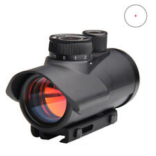 Sight Scope Holographic Red Dot 1 30mm Green Tactical Reflex Hunting Mount Rifle