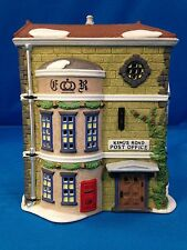 "DEPARTMENT 56 DICKENS VILLAGE SERIES  ""KING'S ROAD POST OFFICE"" #5801-7 MINT"