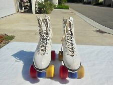Women's Riedell Sure Grip Super X 5L Roller Skates Size 8 Great Condition