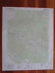 Shawnee Colorado 1987 Original Vintage USGS Topo Map