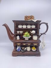 More details for cardew designs welsh dresser teapot limited edition -1380/5000- damaged repaired