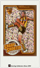 2010 AFL Herald Sun Cards Sharp Shooters Subset SS8 Lance Franklin (Hawthorn)