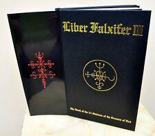 Liber Falxifer III - N.A-A.218 LE TOTBL Grimoire Ixaxaar Qayinite Witchcraft OOP