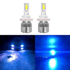 Blue 9008 H13 LED Headlight 8000K 110W 8000Lm HL Beam Kit For 05-17 FordF-450
