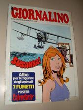 IL GIORNALINO=1978/1=MAGO SILVAN=INSERTO ALBUM FIGURINE + POSTER CALENDARIX=