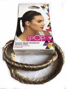 Hairdo Pop Fishtail Braid Headband - R14/88H Golden Wheat Hair Band 1 Pc