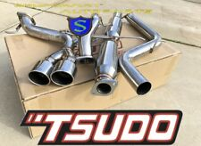 TSUDO CATBACK EXHAUST SYSTEM FOR 2013 - 2017 FORD FOCUS ST 2.0L TURBO 3