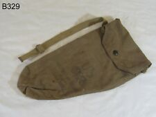 Vintage WWII US NONCOMBANTANT Gas Mask M1A2-1-1 HAVERSACK
