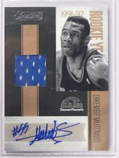 10-11 Timeless Treasures Rookie Year Dikembe Mutombo auto jersey #D38/50 *38096