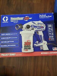 Graco 17D889 TrueCoat 360 VSP Handheld Paint Sprayer **read**