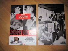 Doors London Fog poster 11x17 double sided
