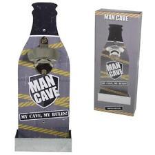 'Homme Cave' Bière Ouvre Bouteille avec Plateau - de Père Jour Cadeau