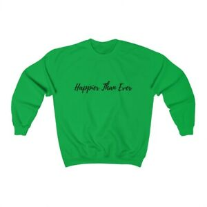 Happier Than Ever, Billie Eilish, Unisex Adult Sweatshirt