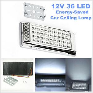 1PCS 12V 36 LED Car RV Interior Dome Light Roof Ceiling Lamp Energy-saved White