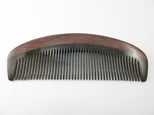"6"" Natural Violet Rosewood & OX Horn Palm Comb Hair Beard Mustache Care Comb"