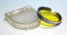 Zeiss-Ikon -1 G 2x S27 Farbfilter Gelb / Color filter yellow - (81954)