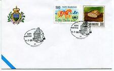 1998-07-11 San Marino 11° vastophil ANNULLO SPECIALE Cover