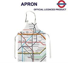 LONDON UNDERGROUND TRAIN METRO TRAIN MAP APRON BRITISH SOUVENIR GIFT