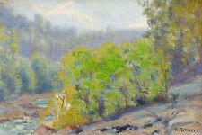 Henry GAULET (1863-?) HST Le Bonnant et le Mont Joly Saint Gervais ALPES Savoie