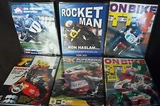 6 DVD's lot NEW in Box motorcycle motorbike racing championship fast action!