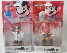 DR. MARIO AND FIREBALL MARIO Amiibo LOT Bundle - Super Smash Bros. - US Edition
