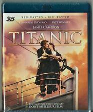 Blu Ray 3D + 2D : Titanic - NEUF