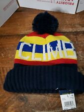 POLO RALPH LAUREN Men's Downhill Skier Blend Beanie, Obsidian/Yellow, One Size