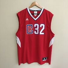 Blake Griffin Los Angeles Clippers #32 Adidas NBA Basketball Jersey Mens XL