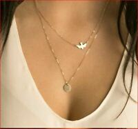 2019 Double Dove Pendant & Necklaces for ladies