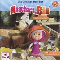 MASCHA UND DER BÄR - 005/DIE HEIMWERKER   CD NEU